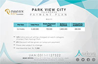 park view city islamabad site map payment plan