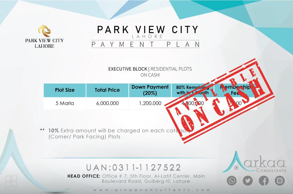 Park View City executive block