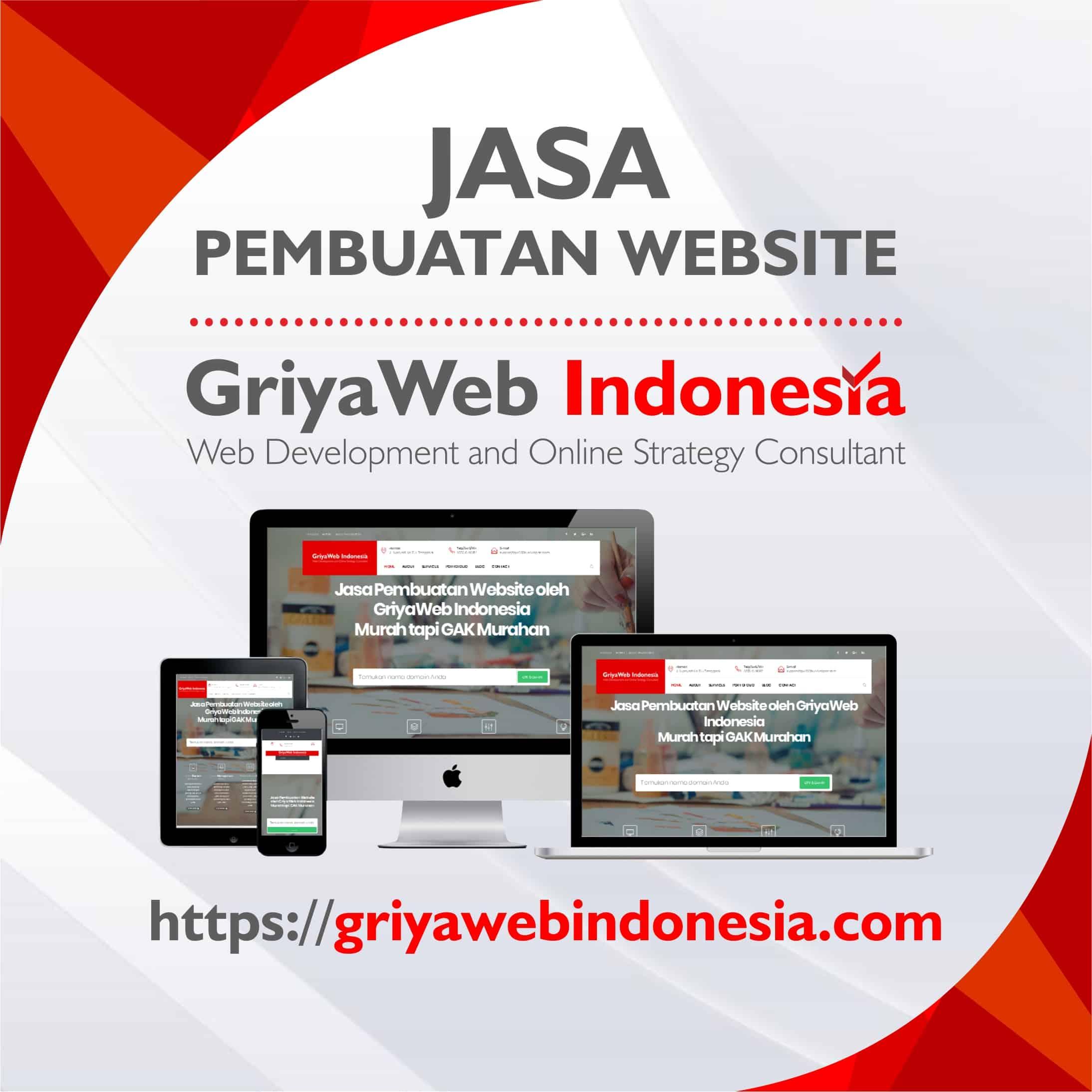 griyaweb indonesia jasa pembuatan website toko online dan website perusahaan
