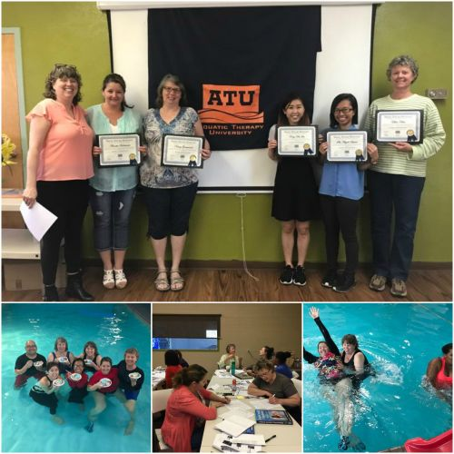 aquatic therapy certification ceremony