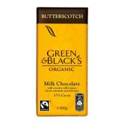 Melkesjokolade med toffee, økologisk og Fairtrade 100g