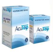 Akupunkturnål  kobberskaft og innføringshylse 0,22 x 13 mm, 100 Stk