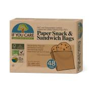 Sandwich bags, ubleket 48 Stk