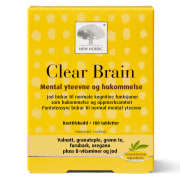 Clear Brain 180 Tabletter