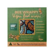 Bee Wrappy, vegansk voksark, Large 2-pakk