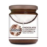 Cocobella sjokolade og kokossmørepålegg - økologisk 250g