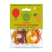 Rainbow Lollipops Kjærlighet på pinne, Økologisk og Vegan 6 Stk