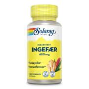 Fermentert Ingefær 400 mg 100 Vegkapsler