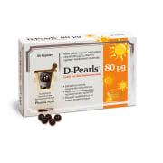D-pearls, D-vitamin 80µg 80 stk Kapsler