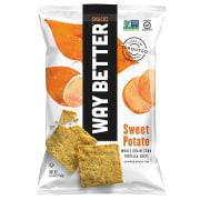 Sweet potato corn tortilla chips 156g