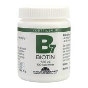 Biotin 425µg 100 Tabletter