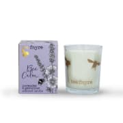 Bee Calm, lavendel og geranium, duftlys av planteoljer 9cl