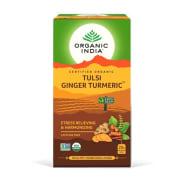 Tulsi Ginger Turmeric Tea Øko 25 teposer