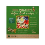 Bee Wrappy, vegansk voksark, 3-pakk, miks