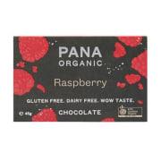 Pana Chocolate Raw Cacao Dark Raspberry ØKO 45g