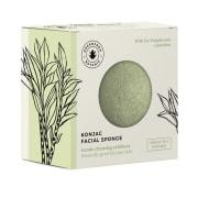 Konjac facial sponge, green tea