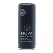 Nova Organic Energy, granateple, blåbær og ingefær 250ml