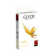 Glyde Veganske kondomer, Vanilje 10 Stk