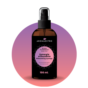 Brume d'ambiance - Huile essentielle - Synergie stimulante