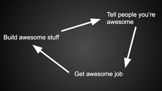 How to get a job in a company which does awesome work?