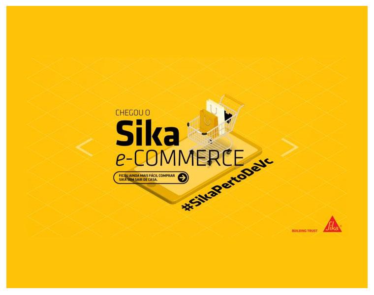 Sika investe em vendas por e-commerce