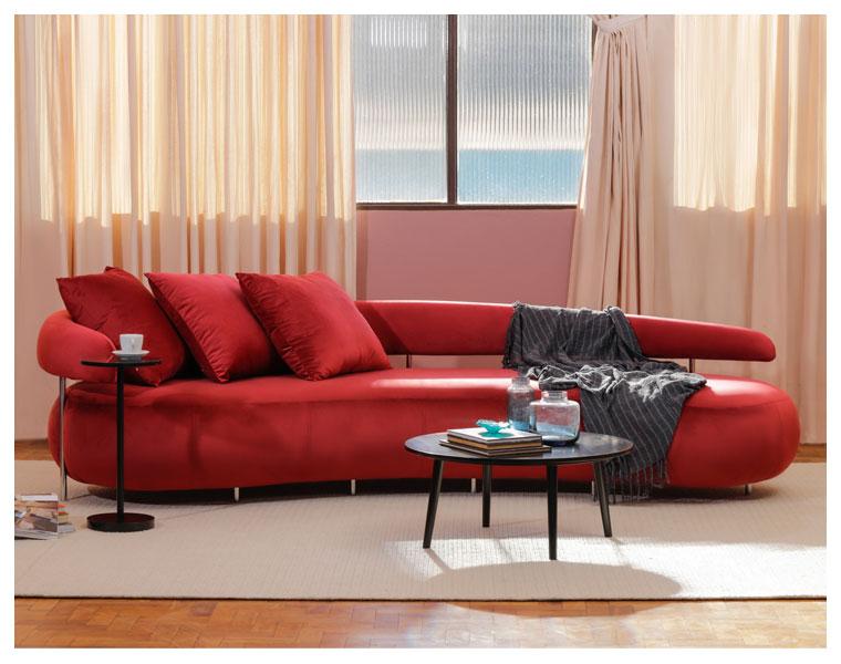 Klie lança sofá curvo Dunas