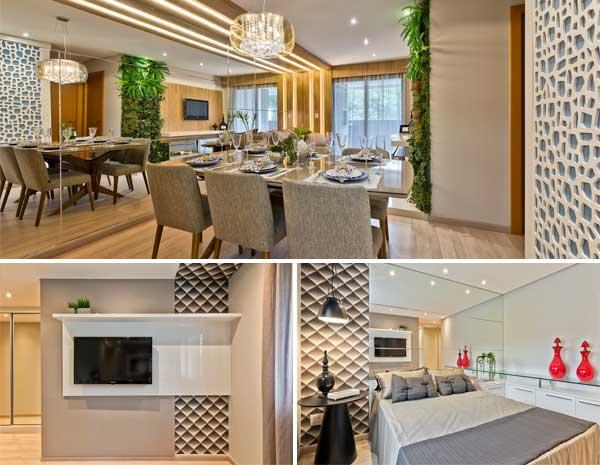 1b30e0f509f O design de interiores é capaz de transformar os ambientes – espaçosos ou  pequenos – e criar efeitos estéticos incríveis. Existem inúmeras  possibilidades ...