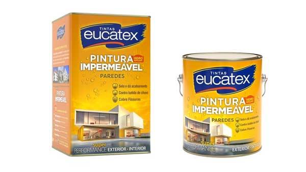 Tintas Eucatex lançam Pintura Impermeável