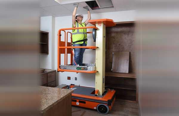 Novos equipamentos para elevação de pessoas