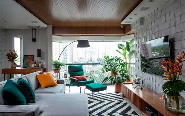 Andrade & Mello reforma apartamento de 1980