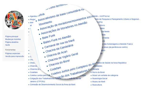 Dicionário de Favelas Marielle Franco