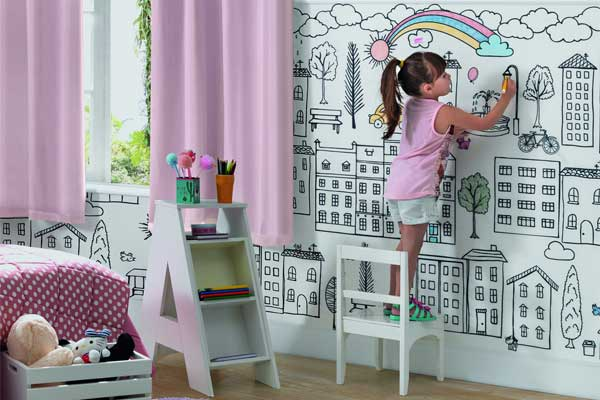 Tecido incentiva a criatividade das crianças