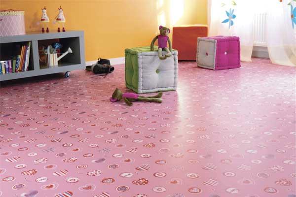 Piso Tarkett para ambientes infantis