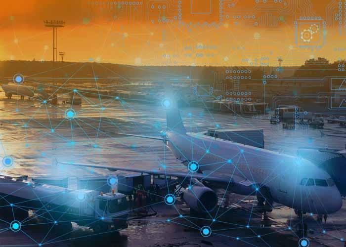 A tecnologia 5G vai transformar as viagens aéreas