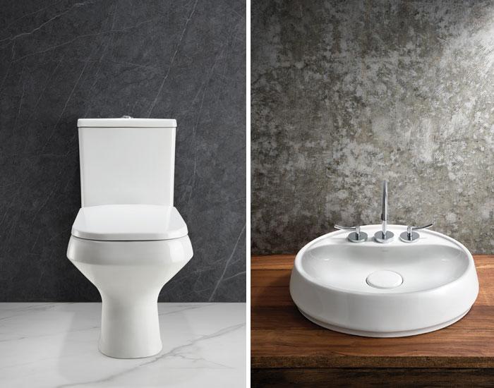 Design único Loren Like para louças sanitárias
