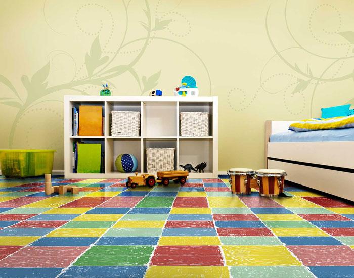 Tarkett antialérgico e acústico para ambientes infantis