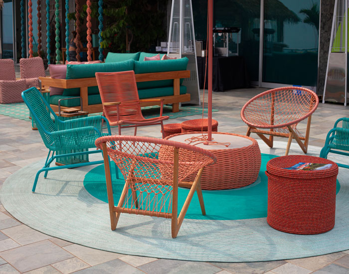 Tidelli assina décor de Rafi Lounge em Malibu