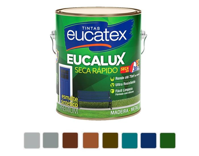 Esmalte Eucalux Seca Rápido ganha novas cores