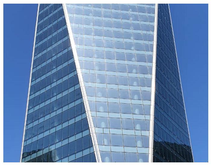 Guardian Glass na fachada do Birmann 32