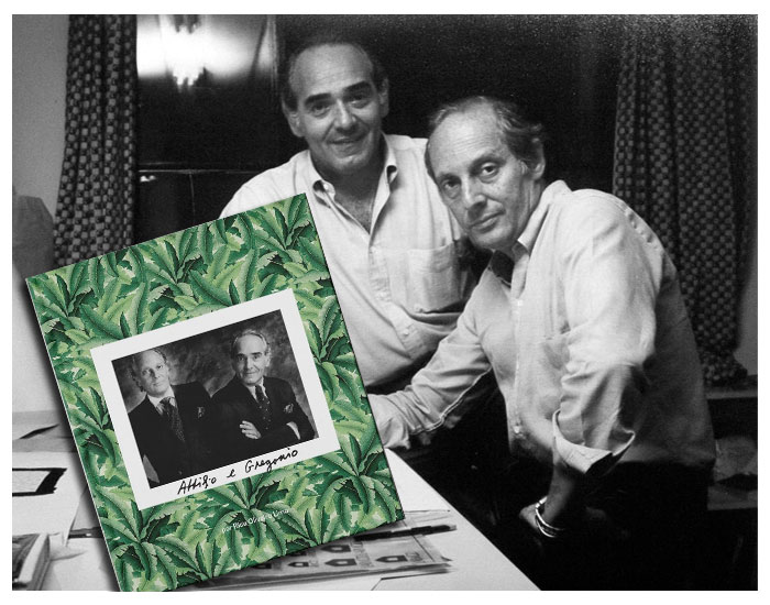 50 anos de Attilio e Gregório em livro