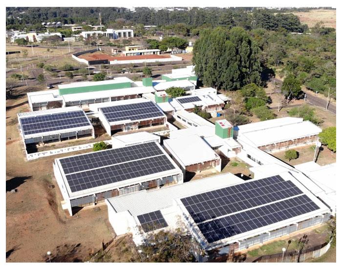 UFSCar  completa 7 Usinas Fotovoltaicas