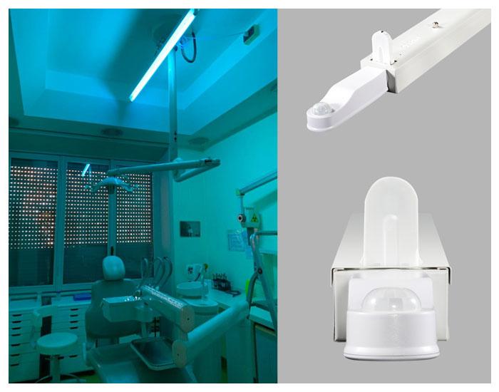 Luminárias AirZingTM OSRAM no combate de vírus e bactérias