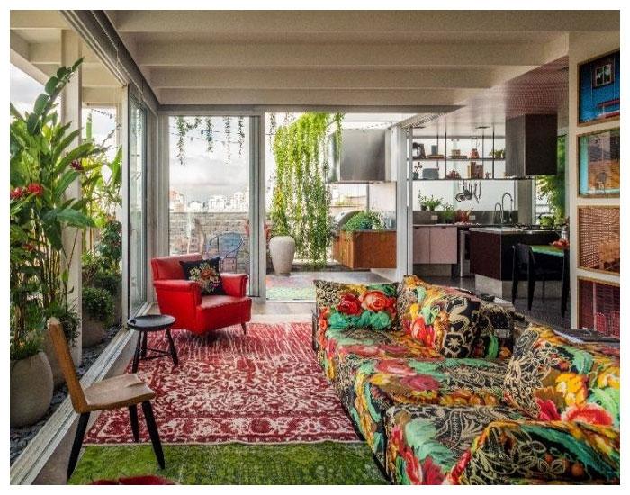 Apartamento cheio de histórias de Julliana Camargo