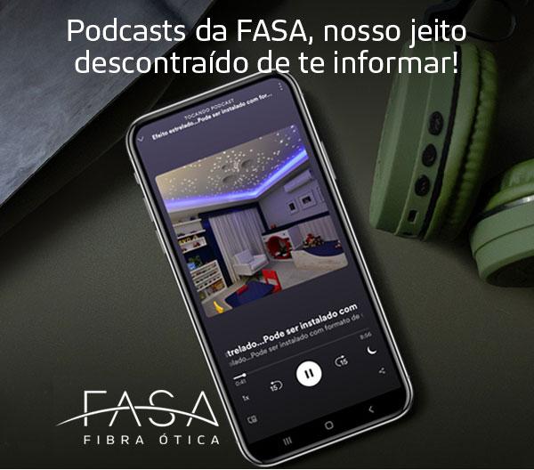 Podcasts da FASA, um jeito descontraído de informar