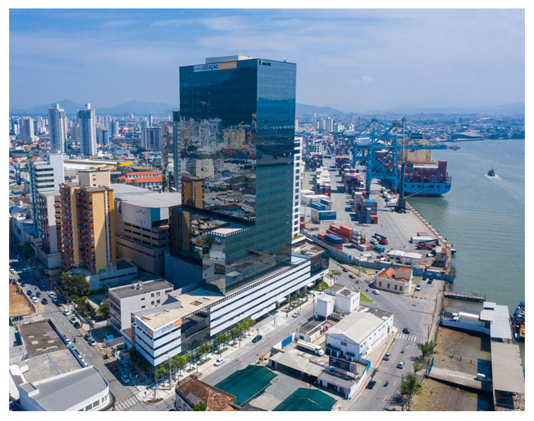 Transformação imobiliária no litoral catarinense