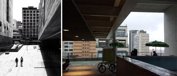 Contrastes na Arquitetura de São Paulo