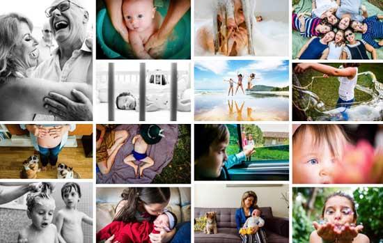 Workshop de fotografia para mamães
