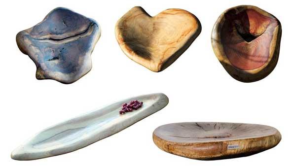Natureza norteia as peças feitas à mão da Corte da Terra