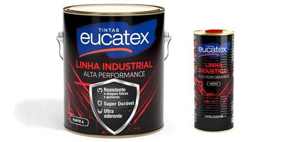 Tintas Eucatex apresentam Linha Industrial