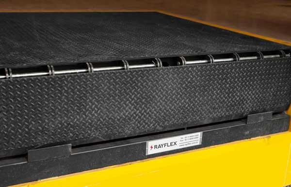 Niveladoras de docas Rayflex